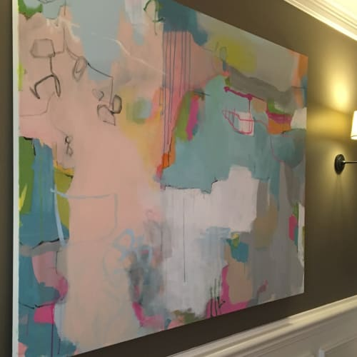 Paintings by Mary Elizabeth Peterson at Private Residence, Charlotte - Unknown Memory