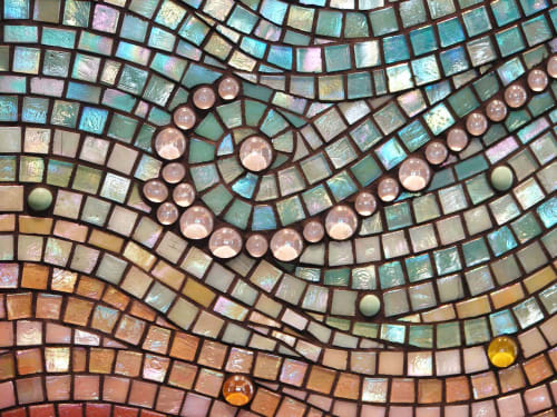 Art & Wall Decor by Dyanne Williams Mosaics seen at Private Residence, Kailua - Mokuluas Mosaic