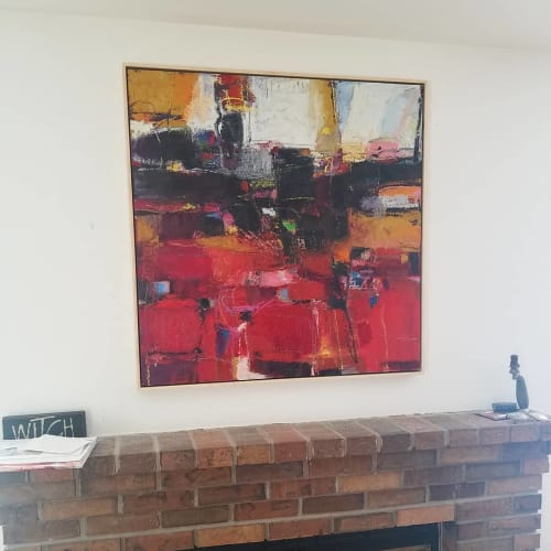 Paintings by John Berry seen at Private Residence, Reno - Contemporary Art