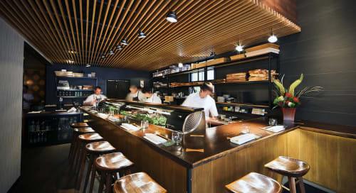 Akiko's Restaurant, Restaurants, Interior Design