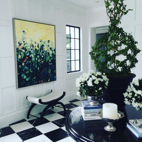 Paintings by Amy Frankson Fine Art seen at Private Residence, Newport Beach - Painting