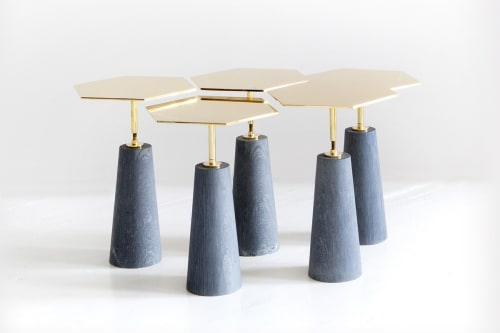 Tables by Egg Collective at The William Vale, Brooklyn - Hawley  Side Table