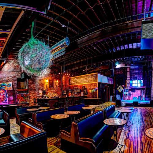 Electric Haze Worcester Ma Bar Interior Design