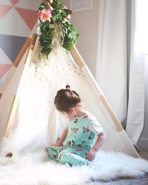 Teepee | Furniture by Tnee's Tpees | Sarah's Home in Calgary