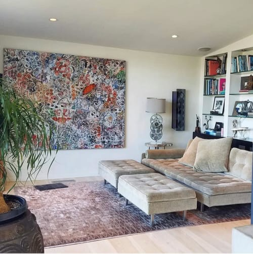 Paintings by Bruce Rubenstein seen at Private Residence, Los Angeles - Virtual Insanity