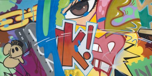 John CRASH Matos - Street Murals and Public Art