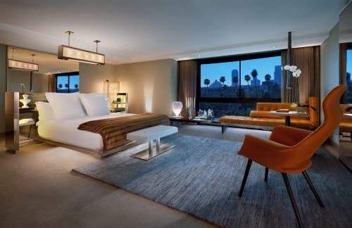 SLS Hotel, a Luxury Collection Hotel, Beverly Hills, Hotels, Interior Design