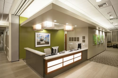 UCI Health H.H. Chao Comprehensive Digestive Disease Center (CDDC), Public Service Centers, Interior Design