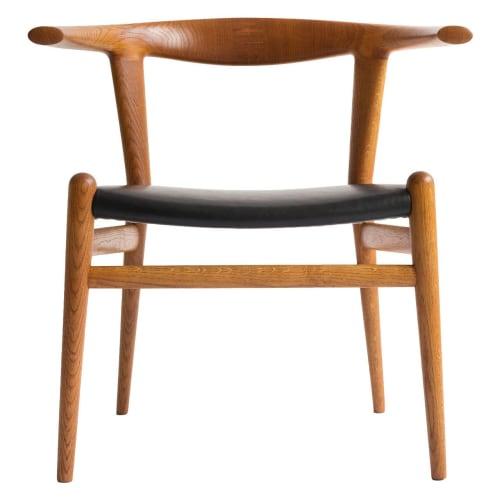Chairs by Hans J. Wegner seen at Boulibar, San Francisco - Bull Chair
