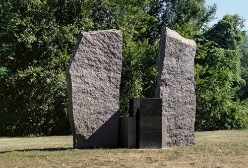 Elyn Zimmerman - Sculptures and Art