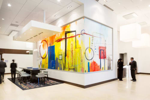 Art Curation by NINE dot ARTS seen at Hampton Inn & Suites Denver Downtown-Convention Center, Denver - Art Curation
