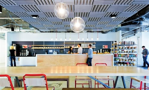 Pendants by Sandra Lindner seen at Facebook HQ, Menlo Park - Selene Pendant lamp