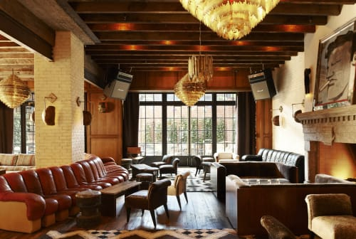 Paintings by Robert Loughlin seen at The Ludlow Hotel, New York - Painting