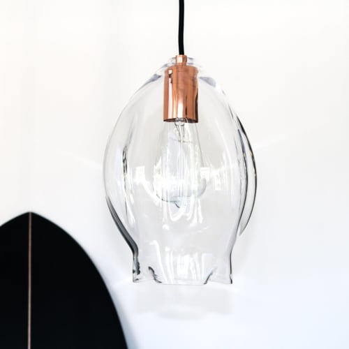 Pendants by SOKTAS seen at Citrico, Fitzroy North - VOLT Pendant Lights and DROPLET Wall Lights