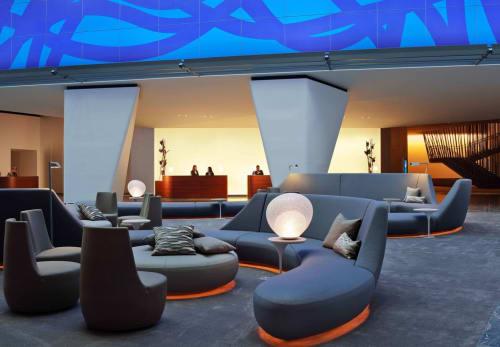 Conrad New York, Hotels, Interior Design