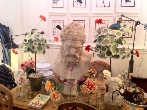 Floral Arrangements by The Green Vase by Livia Cetti seen at John Derian Company Inc, New York - Paper Flowers