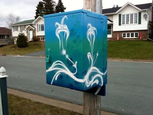 Murals by Christian Toth Art seen at Halifax, Halifax - Utility Box Murals