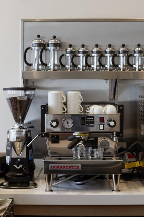 Tableware by La Marzocco seen at Petit Crenn, San Francisco - Marzocco Linea 1 Espresso Machine