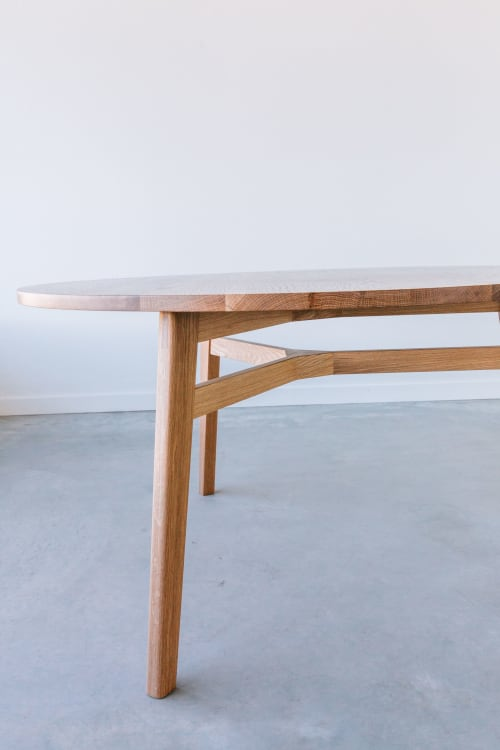 Tables by JD.Lee Furniture seen at The Plant Room, Manly - Ari Dining Table