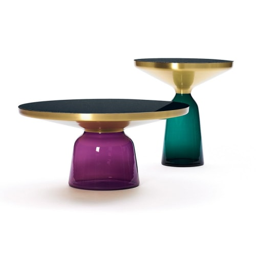 Tables by Sebastian Herkner studio seen at Four Seasons Hotel, New York - Bell Table