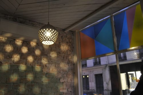 Pendants by Heather Levine at Le Mary Celeste, Paris - Ceramic Pendant Light