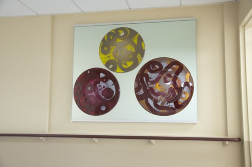 Art & Wall Decor by Arlan Huang seen at Laguna Honda Hospital and Rehabilitation Center, San Francisco - Glass Panels
