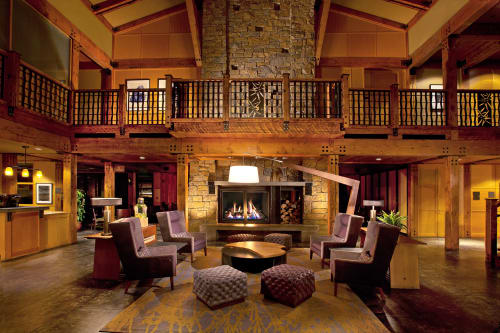 Lighting by Cerno seen at Willows Lodge, WA, Woodinville - Valeo