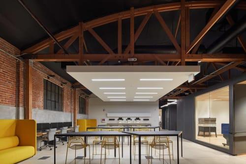 Interior Design by Corey Grosser of Cory Grosser + Associates seen at Supplyframe DesignLab, Pasadena - Supplyframe DesignLab