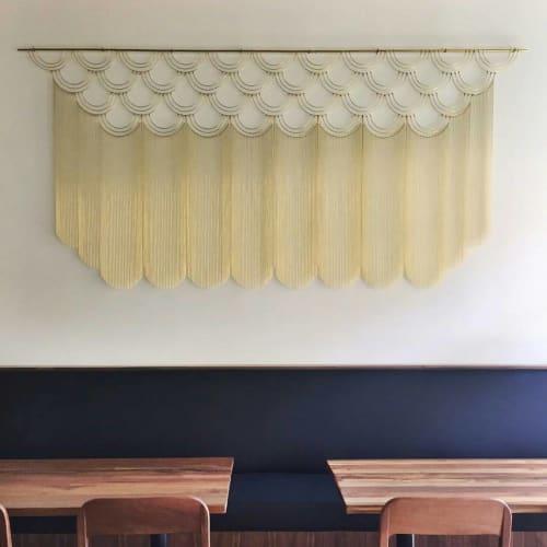 See Brass Geometric Installation by Beth Naumann at Mister Jiu\'s ...