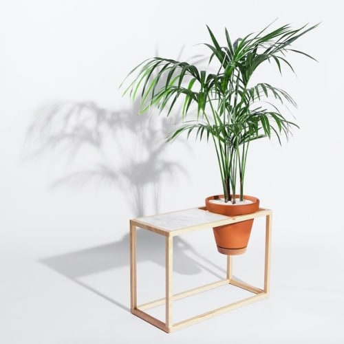 Tables by Trey Jones Studio seen at Trey Jones Studio, Washington - Frame Planter