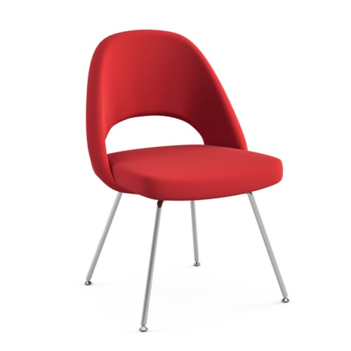 Chairs by Eero Saarinen seen at Untitled, New York - Red Saarinen Executive Armless Chair