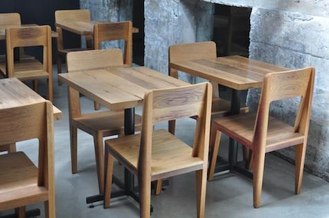 Chairs by Sebastian Parker at Bar Agricole, San Francisco - Seating and Tables