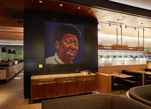 Art & Wall Decor by Erik den Breejen seen at Earls Kitchen + Bar, Chicago, IL, Chicago - Muddy Waters