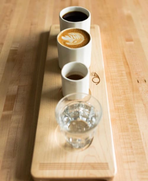 Cups by CONVIVIAL seen at Messenger Coffee Co. + Ibis Bakery, Kansas City - Espresso Cup