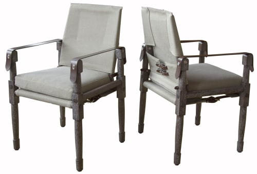 Chairs by Richard Wrightman Design seen at The Farm House, Nashville - Chatwin Dining Chairs