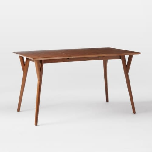 Tables by West Elm seen at JW Marriott Essex House New York, New York - Mid-Century Expandable Dining Table