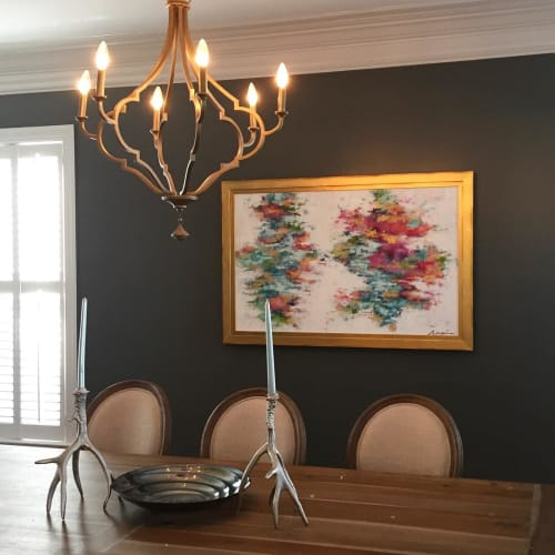 Paintings by Marquin Designs seen at Private Residence, Columbia - Abstract Painting