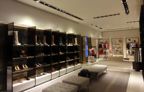 Interior Design by G4 Group seen at Gucci, Barcelona - Architectural Design