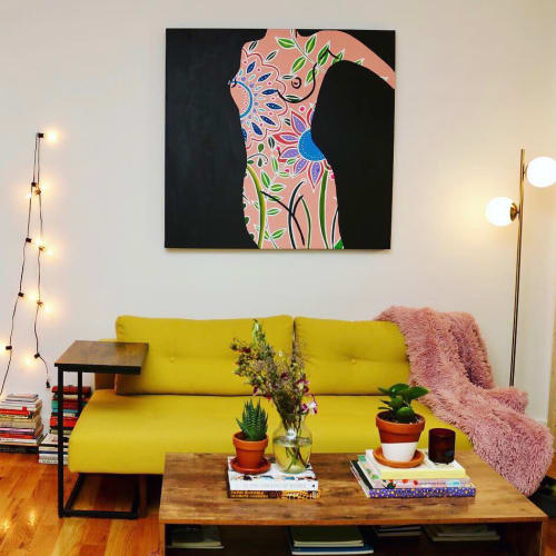 Paintings by Meagan Jain Art seen at Private Residence, Brooklyn - Female Figurative Painting
