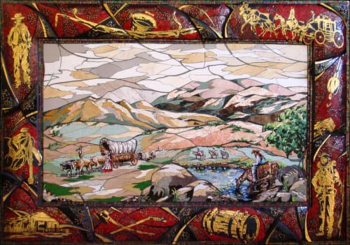 Public Mosaics and Murals by Carole Choucair Oueijan