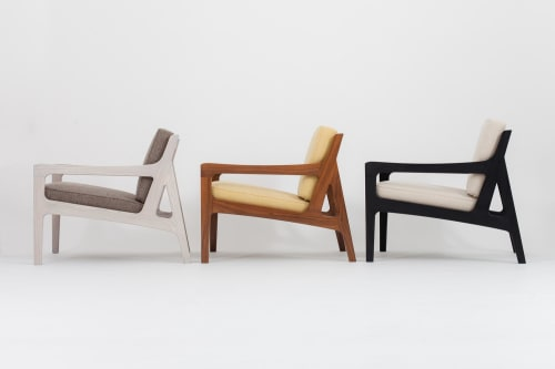 Chairs and Tables by Asa Pingree