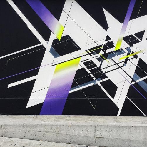 Street Murals by NAWER seen at Torino Porta Susa, Torino - Change Perspective