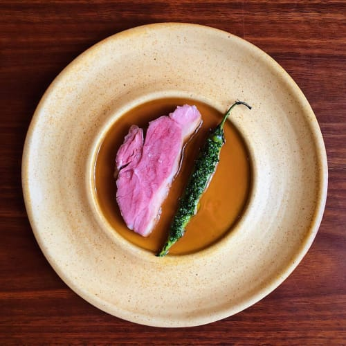 Ceramic Plates by Alessandro Di Sarno seen at Sixpenny, Stanmore - Ceramic Plate