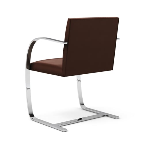 Chairs by Ludwig Mies van der Rohe seen at Twenty Five Lusk, San Francisco - Flat Bar Brno Chair