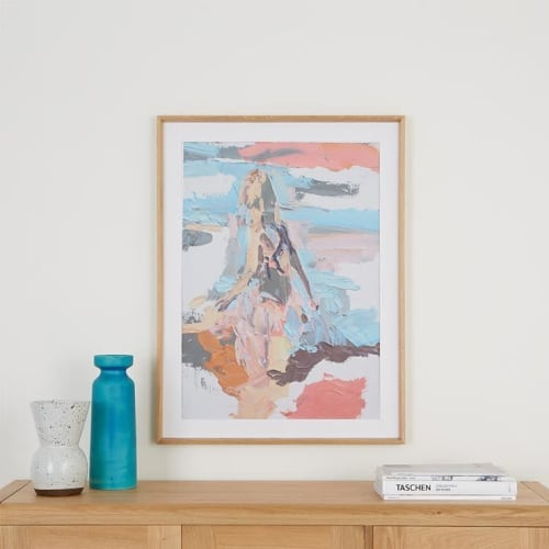 Paintings by Emma Copley seen at Private Residence, Cambridge - My Little Swimmer