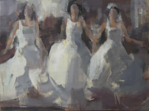 Paintings by Sandra Speidel - Ladies in White