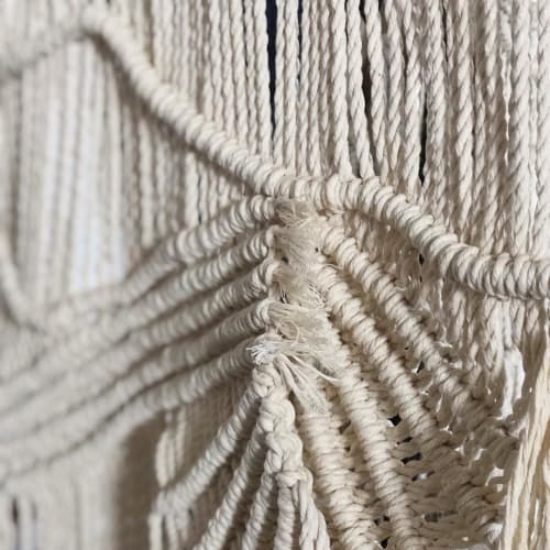 Wall Hangings by Emily Nicolaides seen at 68 Home, Richmond - Macrame Wall Hangings