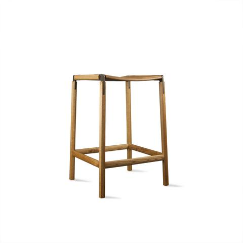Chairs by Fyrn seen at Presidio Heights Home, San Francisco, San Francisco - De Haro Backless Counter Stool
