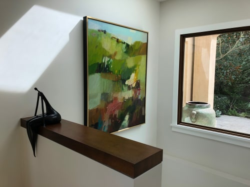 Paintings by Sharon Paster at Private Residence, Belvedere - Marin Hills