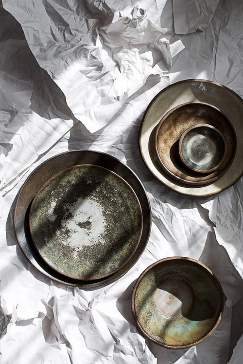 Ceramic Plates by Mary Mar Keenan seen at Nightbird, San Francisco - Plates and Serving Pieces